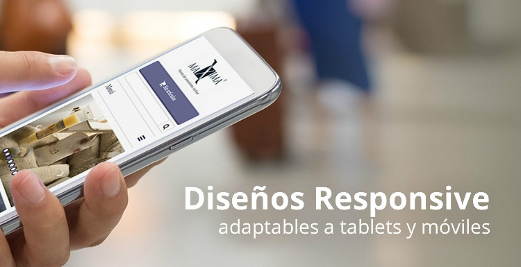 Las tiendas online responsive de Mabisy son Mobile-friendly