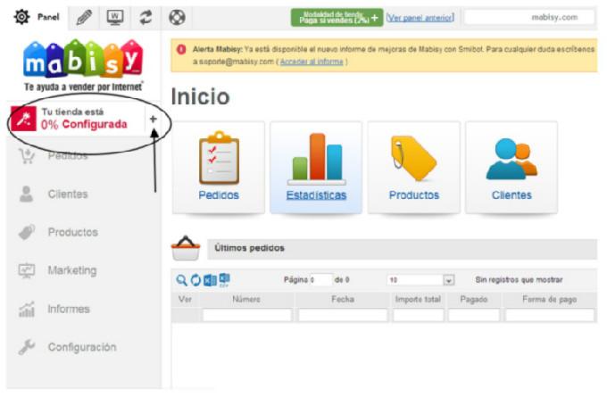 1c0d67a25 Como hacer una tienda online en Mabisy  Configurar mi tienda ...